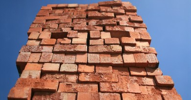 MANCHESTER, ENGLAND - APRIL 22:  A stock pile of house building bricks sits in a builders yard waiting to be bought on April 22, 2009 in Manchester, England. Chancellor Alistair Darling is today unveiling his second budget to Parliament and is expected to reveal plans to boost the construction and housing market.  (Photo by Christopher Furlong/Getty Images)
