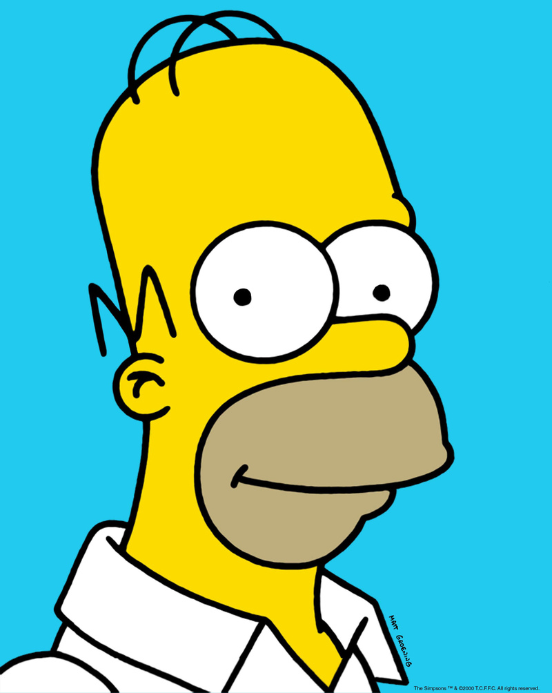 "Homer Simpson: The ""lovable loser"" dad. (AP Photo/Fox Broadcasting)"