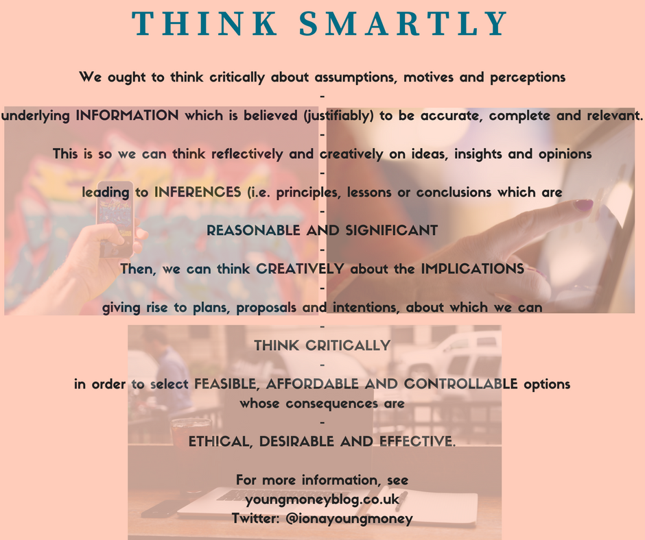 Think smartly