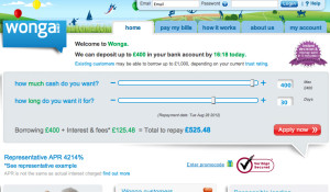 "Wonga was wronga! Payday lender removes student ""advice"""